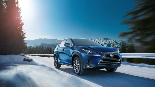 2020 Lexus NX300h from manufacturer website, Lexus.com