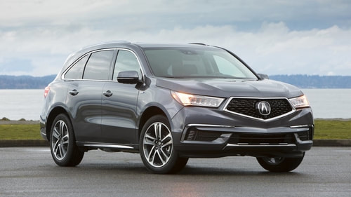 2019 Acura MDX Hybrid from manufacturer website, Acura.com