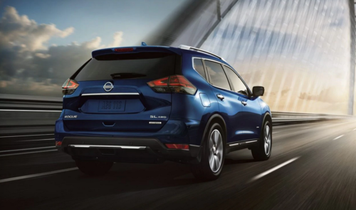 2019 Nissan Rogue Hybrid from manufacturer website, NissanUSA.com