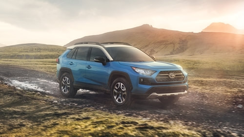 2019 Toyota RAV4 Hybrid from manufacturer website, Toyota.com
